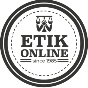 etik online badge